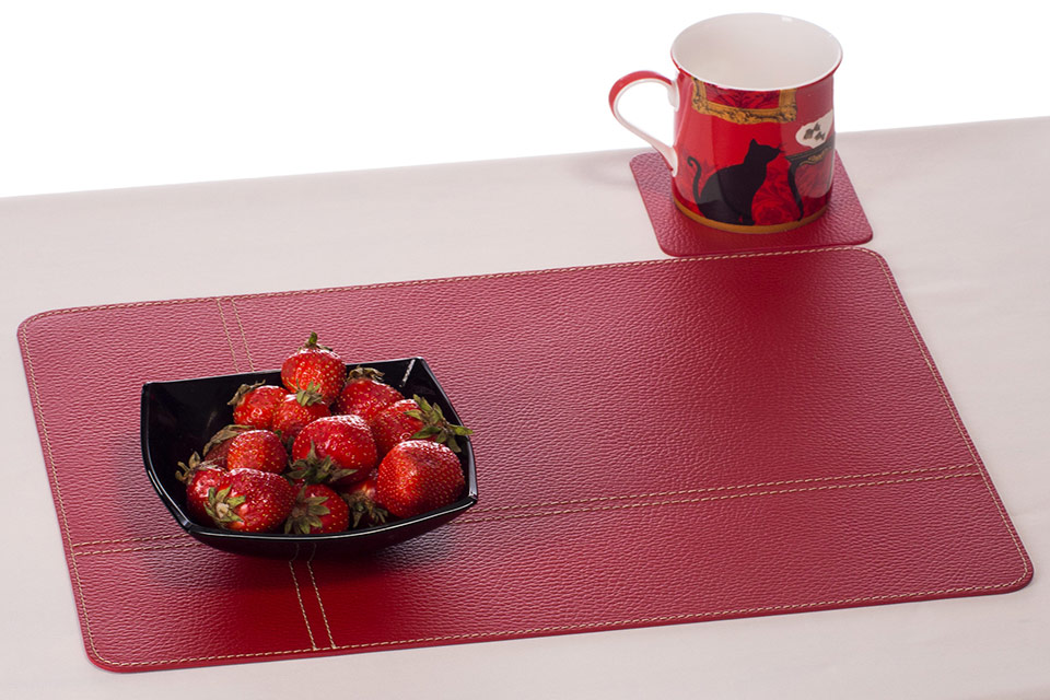Nikalaz Corporate And HORECA Conference Room Placemats Desk Mats - Conference table placemats